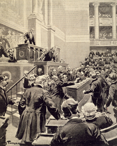 Cavaignac's speech about the Dreyfus Affair to the Chamber of Deputies...whoops!